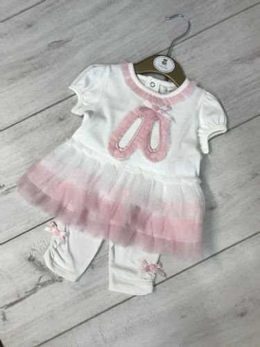 Smocked Ballerina Dress & Leggings